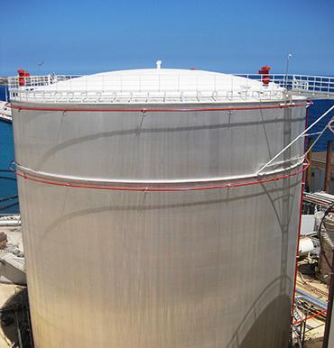 Thermal insulation for tank storage